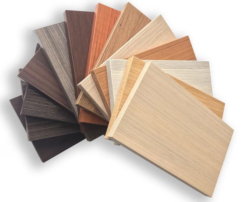 Tấm gỗ nhựa làm tủ bếp nhựa. Là vật liệu đa dạng màu sắc, chất lượng bền đẹp tạo ra tủ bếp nhựa đẹp